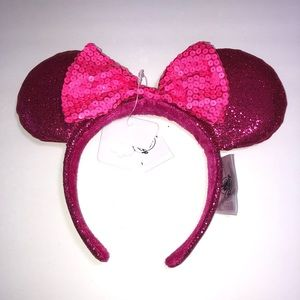 Disney Parks Minnie Mouse Ears Imagination Pink
